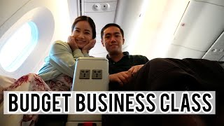 BUDGET BUSINESS CLASS FLIGHT | Flying Scoot Plus