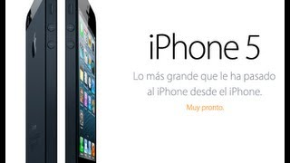 iPhone 5 · Official Apple HD 2012 español subtitulado