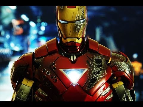 Iron Man 2 Hot Toys Mark VI Iron Man 1/6 Scale Movie Masterpiece Collectible Figure Review