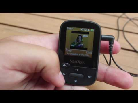 Review:  SanDisk Clip Sport MP3 Player