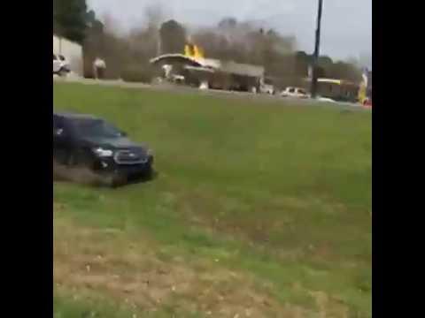 Головокружительный финал полицейской погони