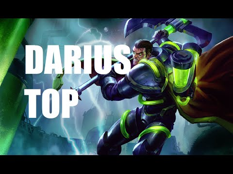 League of Legends - Darius Top - Full Game Commentary