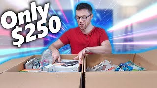 I Paid 250 for 1,932 Worth of MYSTERY TECH! Amazon Returns Pallet Unboxing!