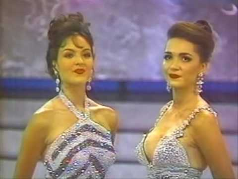 Miss Colombia 1993 - Crowning Moment