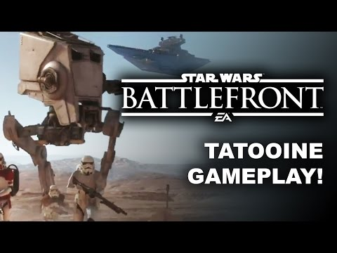 Star Wars Battlefront E3 2015 Tatooine Gameplay Trailer Single Player Coop Missions PS4 Xbox One PC