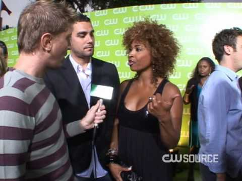 Tanika Ray & J. Boogie - CW Now - The CW Source Video
