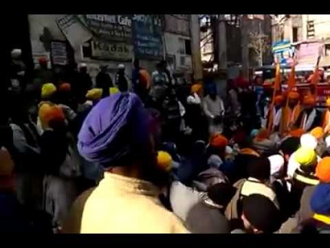 Sikh Protest in Punjab (india)