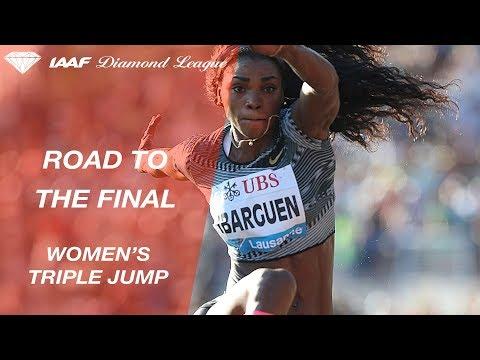 Road To The Final: Women's Triple Jump - IAAF Diamond League