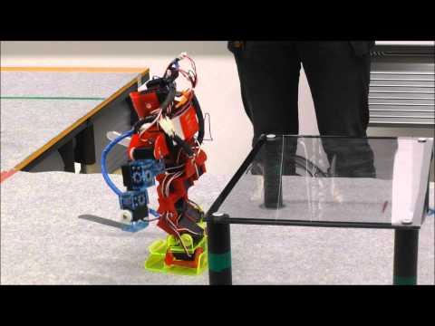 ヒト型レスコン2013ファイナルミッション第1競技