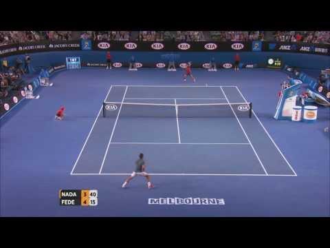 Nadal v Federer Highlights (Semifinal) | Australian Open 2014