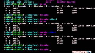 activando interfast en Mikrotik