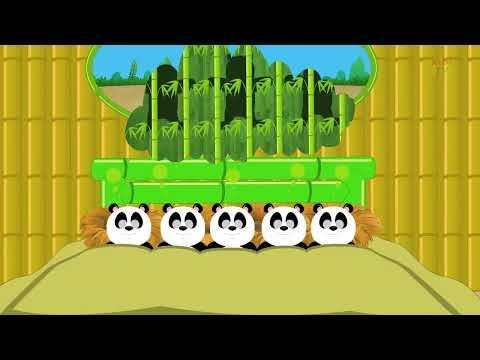 Five little Pandas