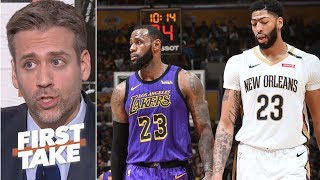 Pelicans not negotiating with Lakers for Anthony Davis is pure haterism - Max Kellerman | First Take