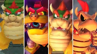 Evolution of Bowser Boss Minigames in Mario Party (1998-2017)