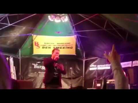 Gerry Holland op het Radio NL smartlappen festival