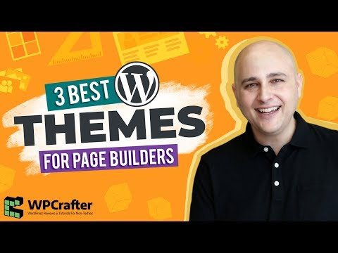 3 Best WordPress Themes For Any Page Builder 👉 Elementor 🤗 Beaver Builder 😉 Divi 3