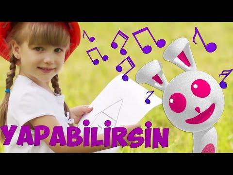 YAPABiLiRSiN | Çizgi Film Tadında Çocuk Şarkıları | Sweet Tuti Bebek Şarkıları | Ninni
