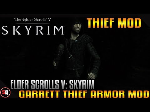 The Elder Scrolls V: Skyrim - Garrett Thief Armor Mod