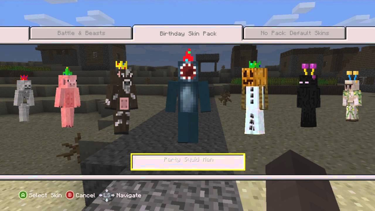 360 Birthday Skin Pack