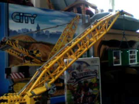 Lego City Crane Lego City Crawler Crane Review