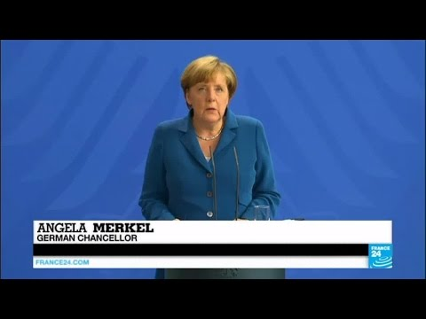 Angela Merkel tries to reassure frightened German citizens after fourth recent attack
