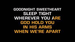 David Kersh - Goodnight Sweetheart (Karaoke)