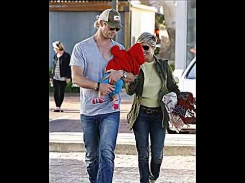 Chris Hemsworth and  Elsa Pataky - First year with the child (India Rose)