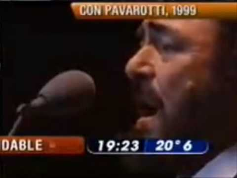 Luciano Pavarotti and Mercedes Sosa - Caruso (Argentina 1999) Music Videos