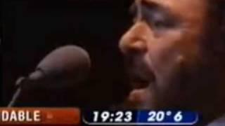 Luciano Pavarotti Video - Luciano Pavarotti and Mercedes Sosa - Caruso (Argentina 1999)