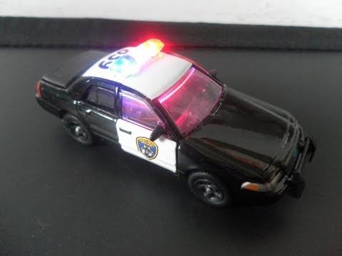 Police Car Matchbox Matchbox Police Car With Leds