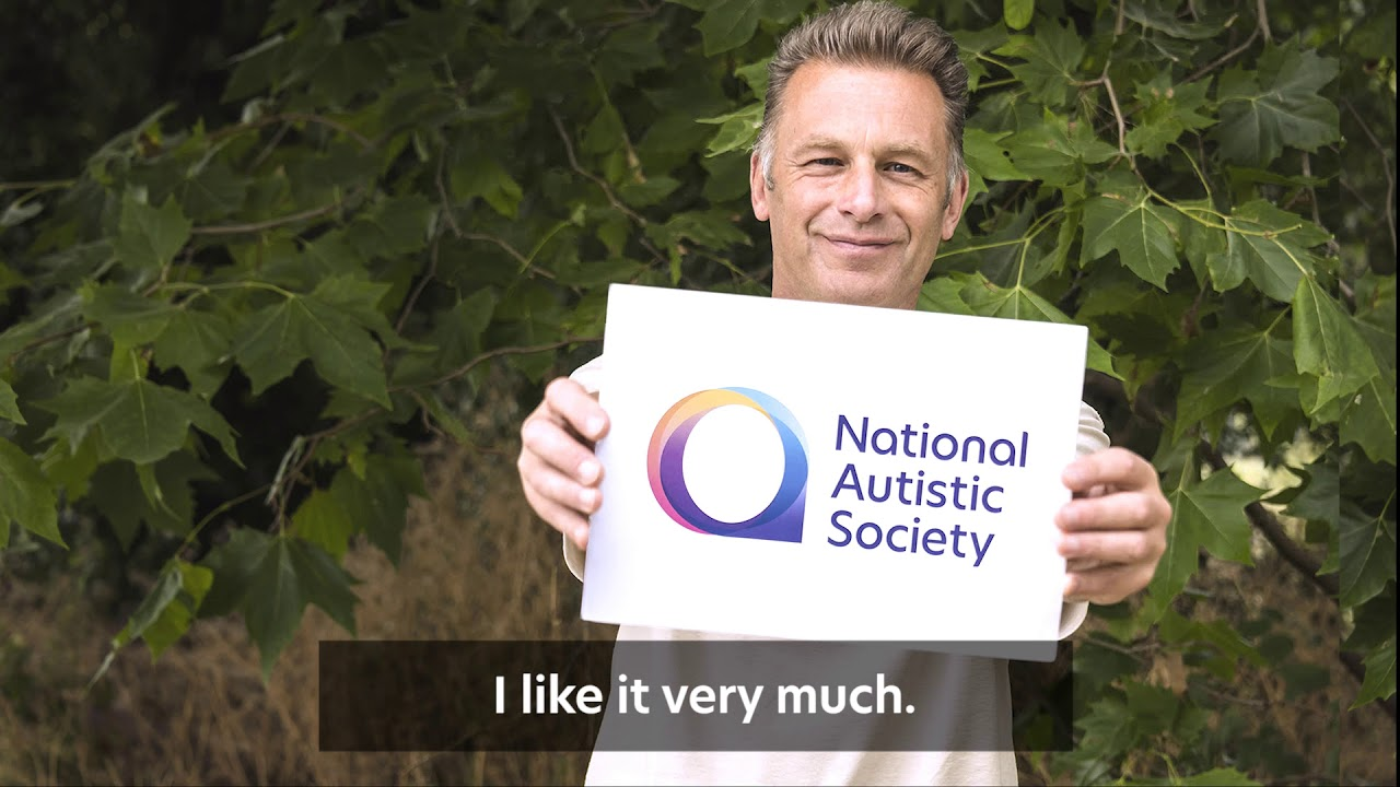 Chris Packham talks about the National Autistic Society's new logo