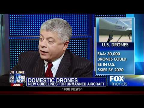 Judge Napolitano : First American to shoot down a Drone will be an American Hero (May 15, 2012)