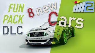 Project Cars 2 Fun Pack DLC all cars 1440p Ultra 60FPS + VR