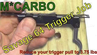 Savage 64 Trigger Job by MCARBO.com