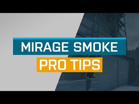 CS:GO - ProTips: Mirage - A-Site Stairs Smoke