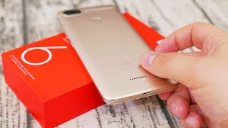 Xiaomi REDMI 6 in for a Review - Helio P22 Benchmarked