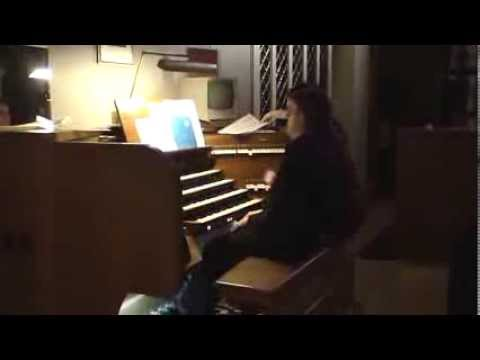 Бах Иоганн Себастьян - BWV 959 - Фуга (ля минор)
