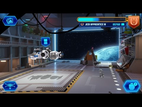 LEGO STAR WARS FORCE BUILDER Gameplay iOS / Android