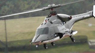 RC Airwolf Helicopter with Peter Spero Sound Track