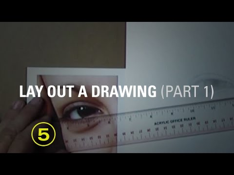 A Drawing Layout Method Using a Straightedge