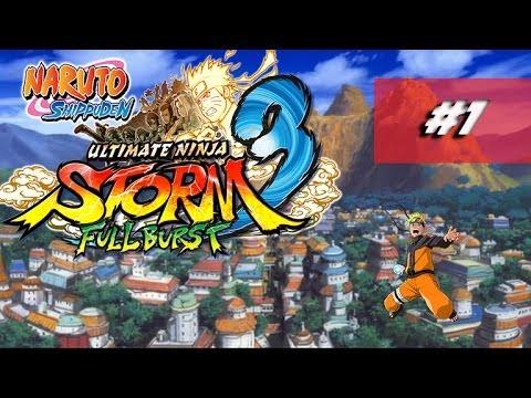 Naruto Shippuden ultimate ninja storm 3 full burst fr - francais - Lets Play : Episode 1 FR / HD thumbnail