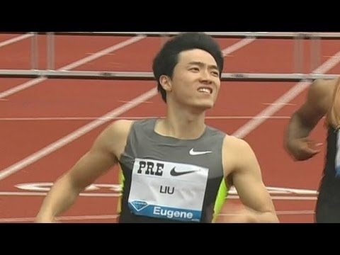 Liu Xiang scorches 12.87, Merritt sub-13 in 110H at 2012 Pre Classic