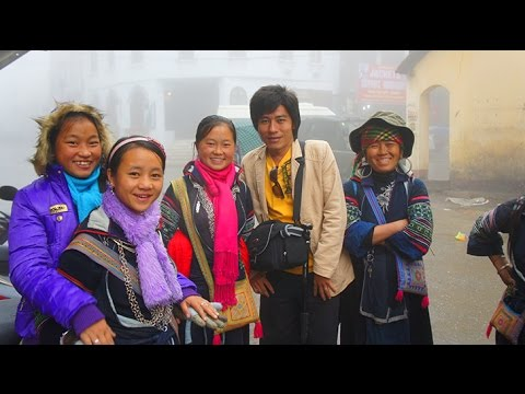 Travel - 2010 Uncut trekking Video to Black Hmong Sapa Village. edited in HD p1/4 (HD)