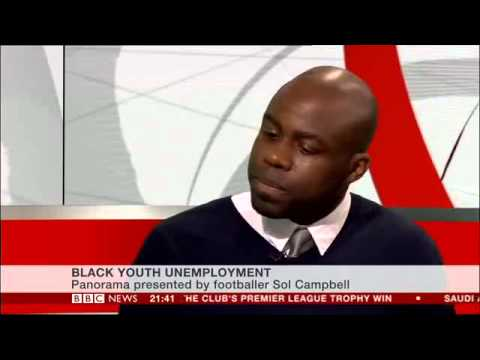Shane Ryan-CEO of WWM on BBC News 24 - Sol Campbell Panorama
