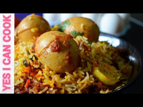 SPECIAL EGG BIRYANI RECIPE by (YES I CAN COOK) How to make Egg Biryani