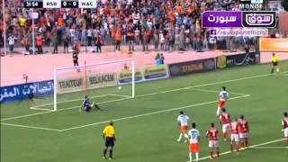 أهداف مباراة نهضة بركان والوداد الرياضي 1-1 | تيفو جماهير النهضة البركانية || 02-11-2014