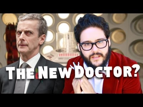 Peter Capaldi is the New Doctor! (Sorry, Steve!)