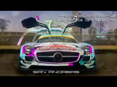 Mercedes-Benz SLS AMG GT3 2015 Hatsune Miku