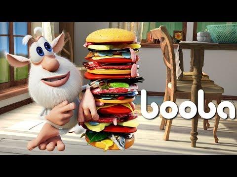 Booba - ep #18 - Hamburger 🍔 - Funny cartoons for kids - Booba ToonsTV thumbnail