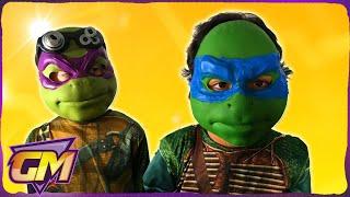 Teenage Mutant Ninja Turtles 2 Movie Trailer 2016: TMNT Kids Parody